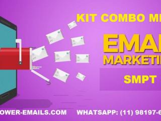 Kit Combo Emails Mkt Envios Em Massa