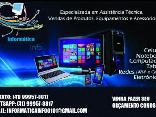 Manutenção De Celulares, Computadores E Notebooks