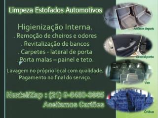 Promoção Higienização Banco De Carro E Van Rj