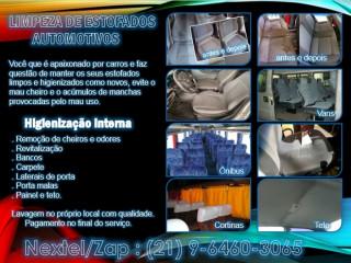 Limpeza De Estofados Carro,van E Ônibus – Rj