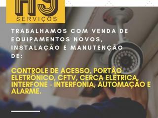 Instalação E Manutenção De Alarme Residencial E Predial - 41.9.9844-6388, H9 Serviços De Segurança Em Curitiba,pr
