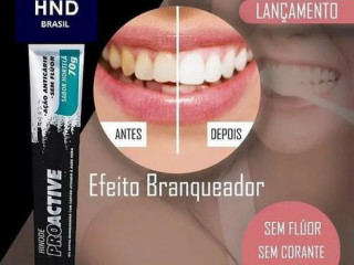Clareador Dental Proactive Carvão Ativado Hinode 70g