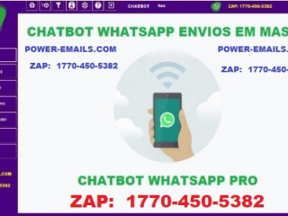 Software Envios Em Massa Whatsapp Chatbot 2019