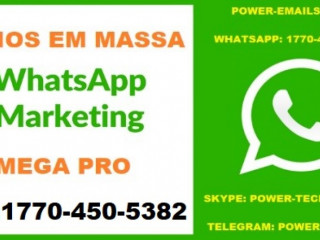 Kit Envios Em Massa Whatsapp Marketing