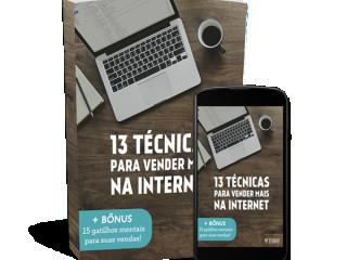13 Técnicas Para Vender Na Internet